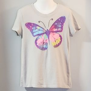 Old Navy Girl's Graphic Butterfly T-shirt